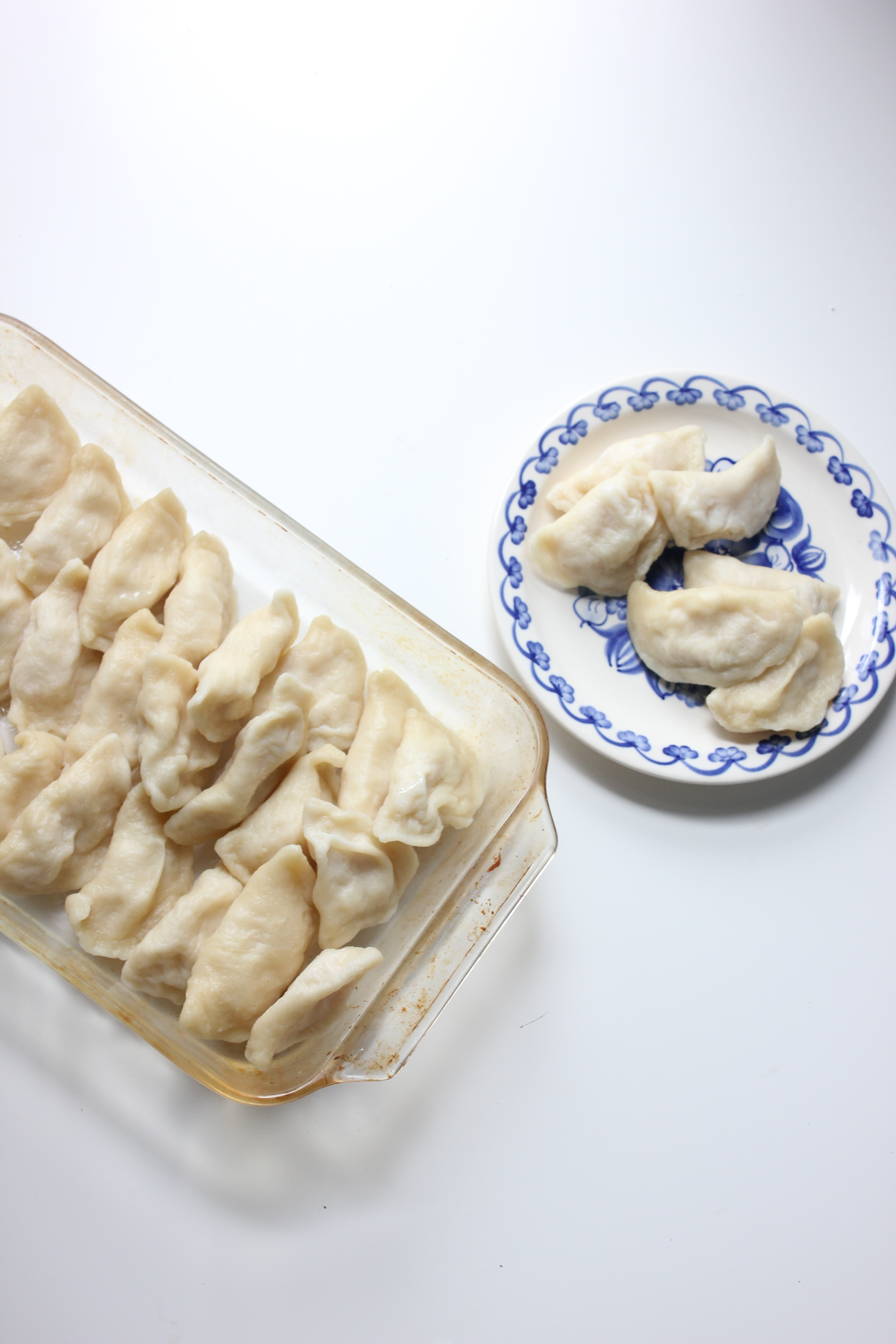 RUSKIE PIEROGI (cottage cheese & potato)