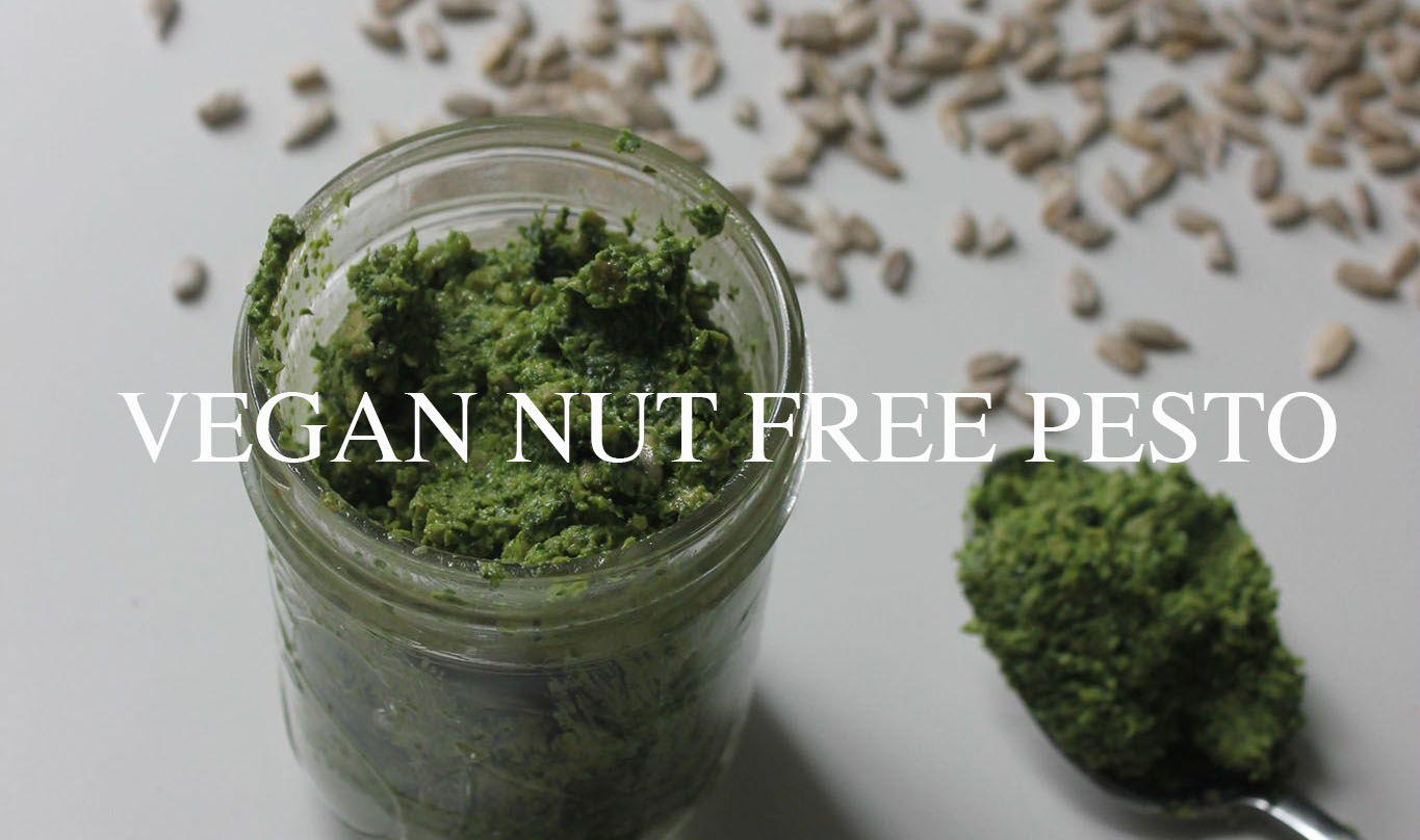 Basil Pesto (vegan & nut free)