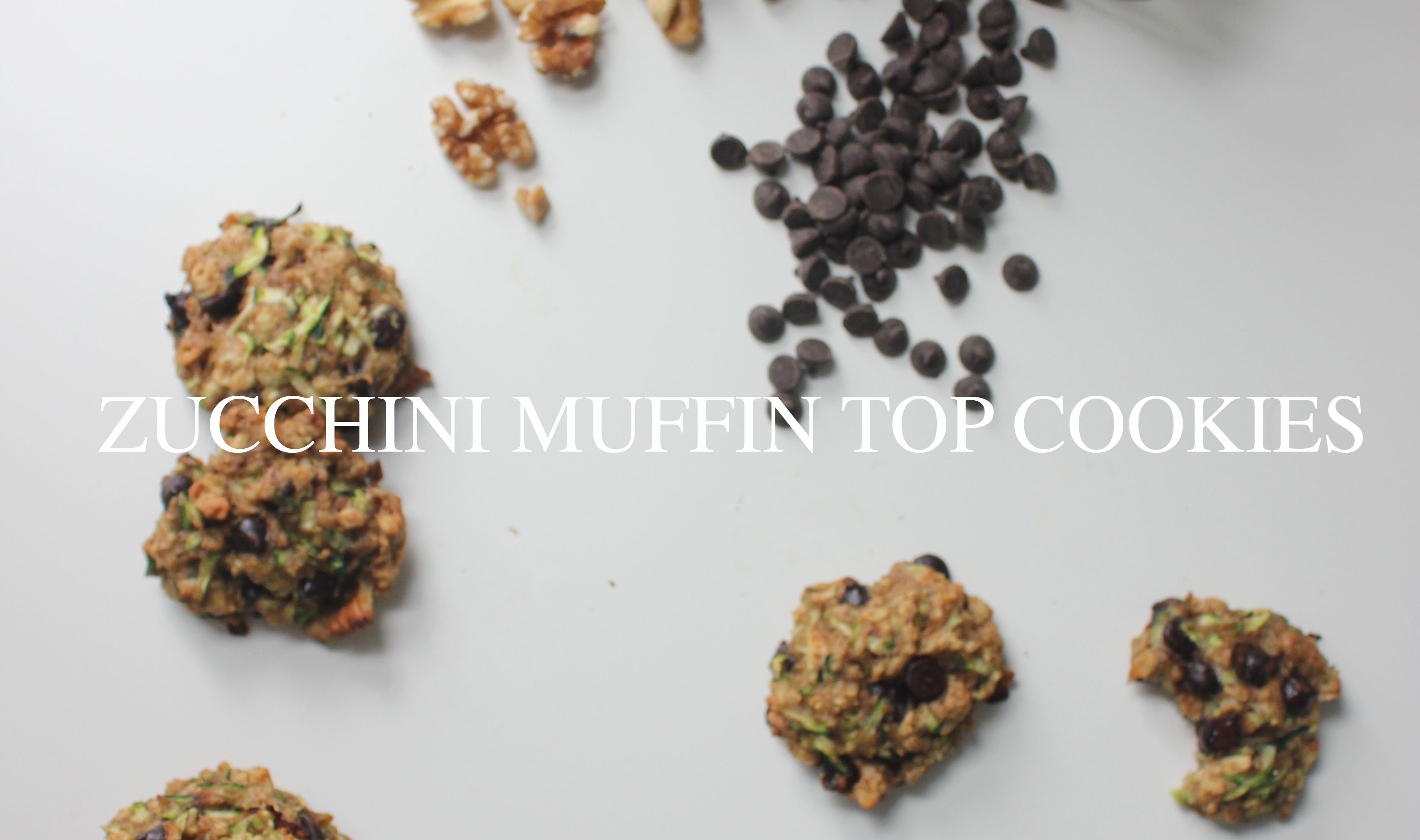 ZUCCHINI MUFFIN TOP COOKIES